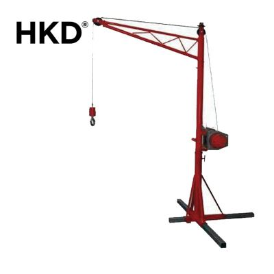HKD Portable Crane With Grooved Winch