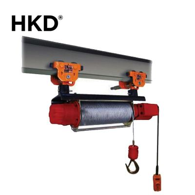HKD Electrical Monorail Grooved Winch