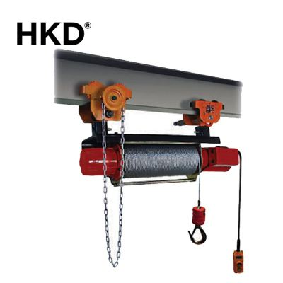 HKD Monorail Grooved Winch With Gear Trolley