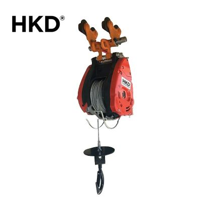 HKD Monorail Mini Winch With Plain Trolley