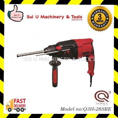 Q3H-28SRE 3 in 1 Rotary Hammer (Forward - Reverse) 820w 28mm