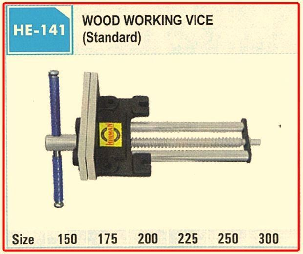 WOOD WORKING VICE 225MM