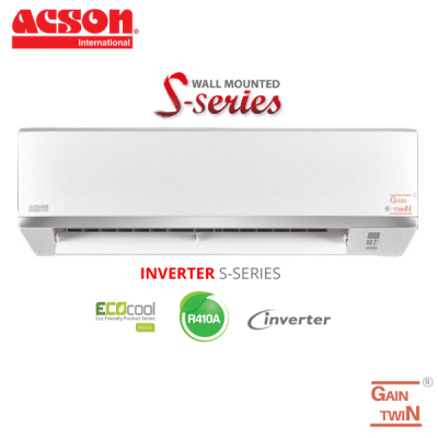 Acson S Series 2.5HP Wall Mounted R410A Inverter A5WMY25S/A5LC25C