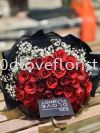 50Roses with Baby breath RM350 FLOWER BOUQUET 花束