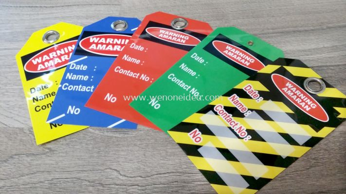 Safety PVC Tag