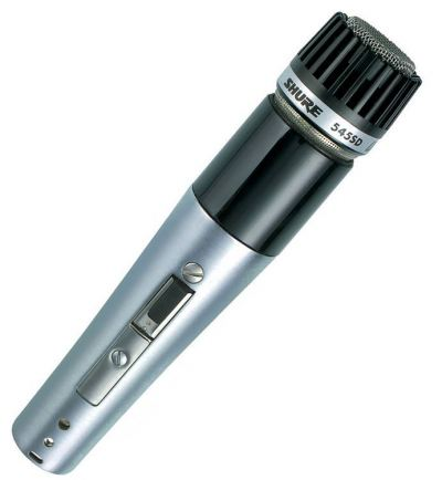 Shure 545SD-LC Cardioid Dynamic, High or Low Z, On-Off Switch