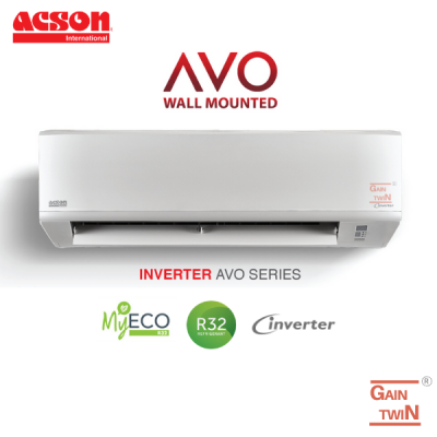 Acson Avo Series 1.0HP Wall Mounted Inverter A3WMY10S/A3LCY10F