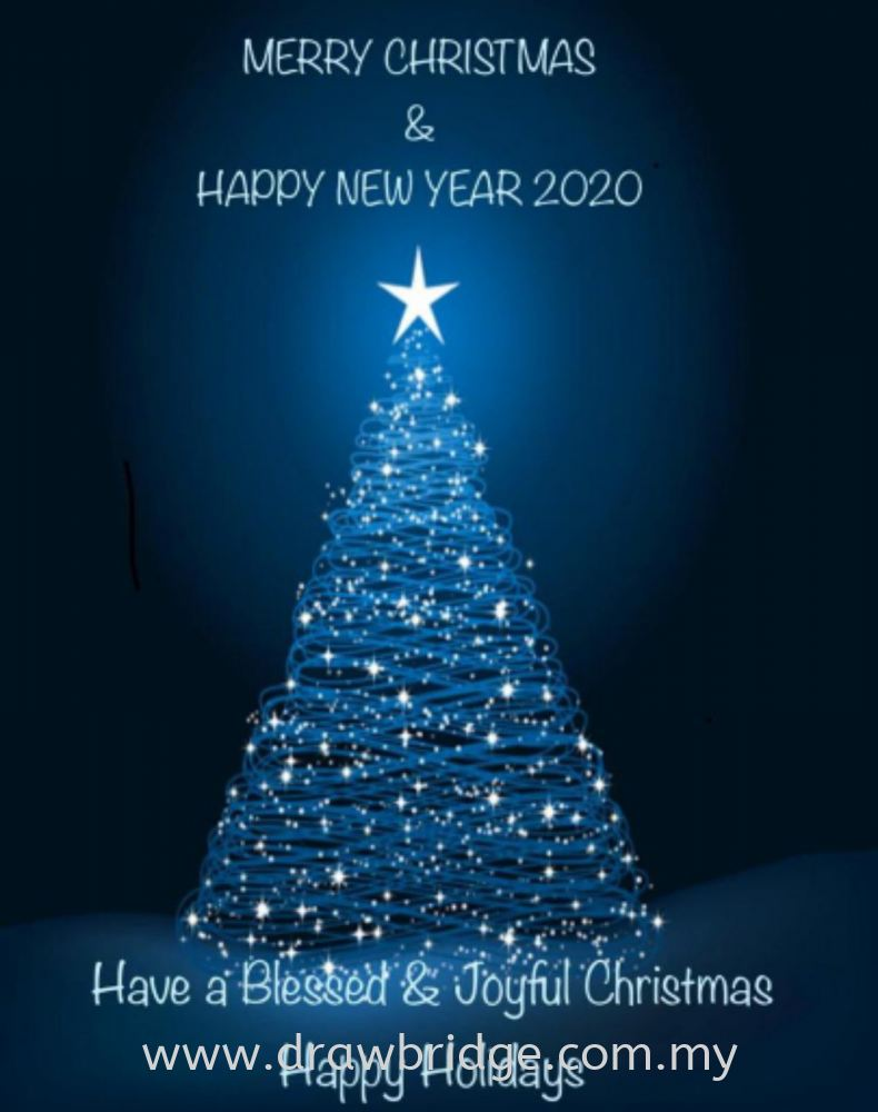 Merry Christmas & Happy New Year 2020 to all our Customers, Supporters and Followers!