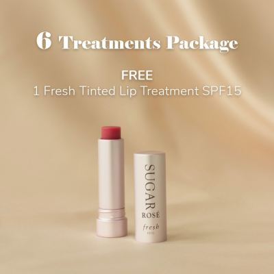 6 Treatments Package:Free Fresh Tinted Lip Treatment