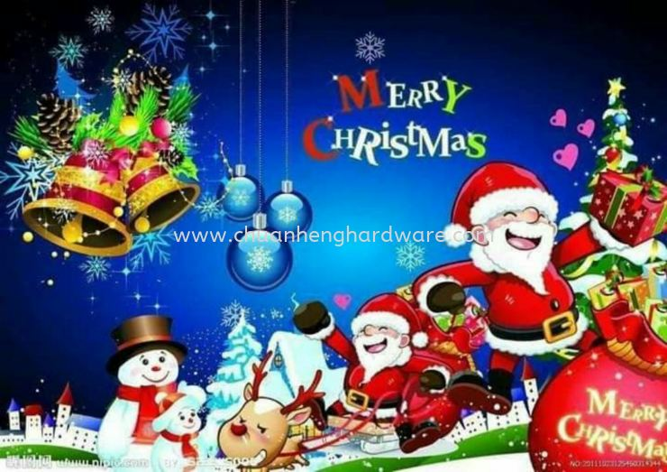 merry christmas. to all customers