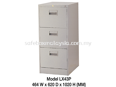 Three Drawer Filing Cabinet LX43PS