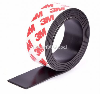 Flexibele Magnetics Rubber Strip 3M Tape