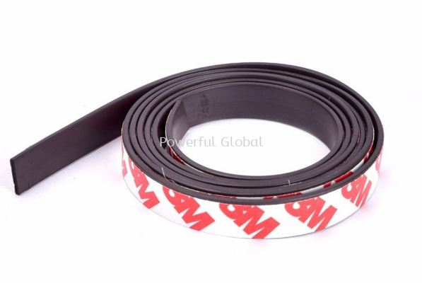 Flexible Rubber Magnetics Self Adhesive 3M Tape