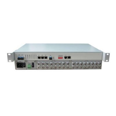 8 �C 16 E1s and Gigabit Ethernet to Optical Fiber Multiplexer �C Ring, Chain, Point-to-Point & Point-to-Dual Applications Supported