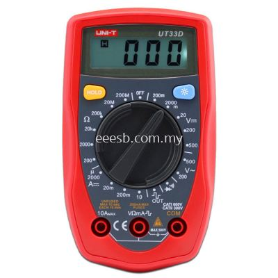 Palm Size Digital Multimeter