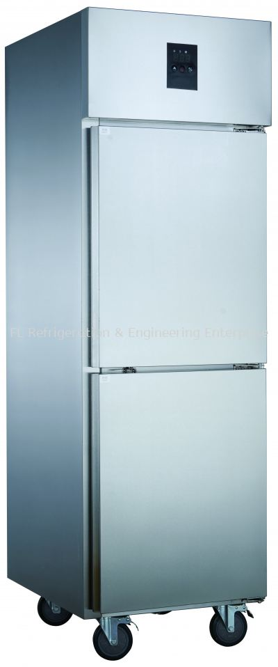 STAINLESS STEEL 2 DOOR UPRIGHT CHILLER OR FREEZER