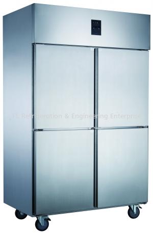 STAINLESS STEEL 4 DOOR UPRIGHT CHILLER OR FREEZER