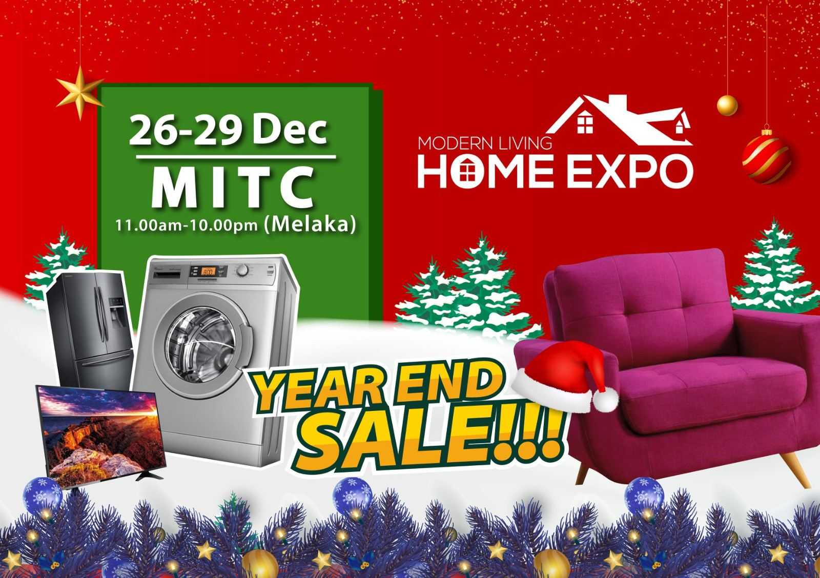 Modern Living Home Expo @MITC, 26-29 Dec 2019