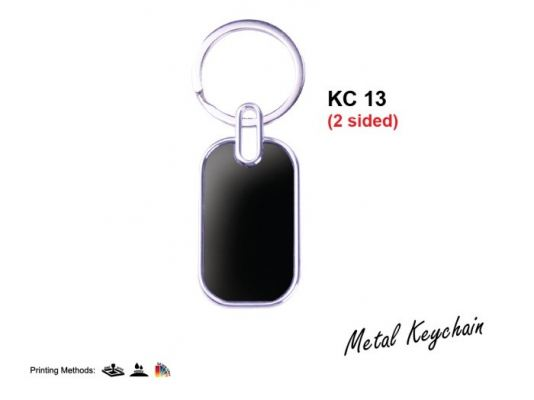 KC 13 Metal Keychain