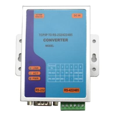 Economy Type TCP/IP to RS-232/422/485 Converter