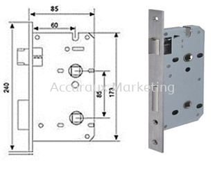 Mortise Sash Lock (Privacy)
