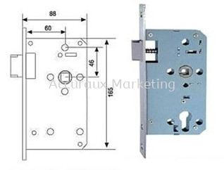 Mortise Passage Lock