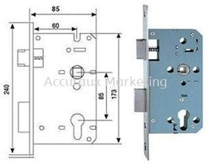 Mortise Sash Lock (Entrance)