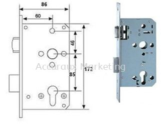 Mortise Roller Lock