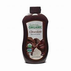 SC-CHOCOLATE SYRUP-ORG-440G