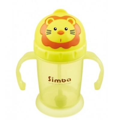 SIMBA FLIP-IT STRAW TRAINING CUP 240ML (P9938)