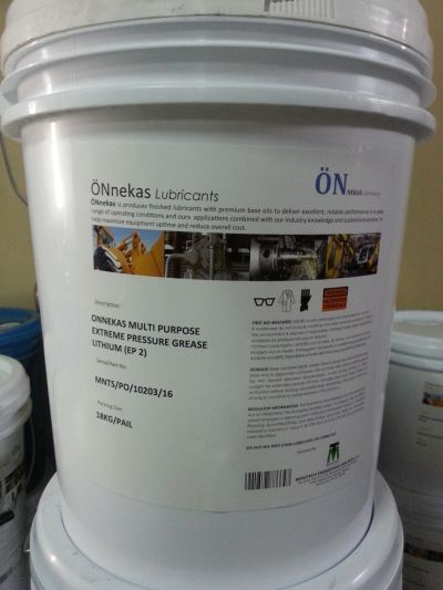 Onnekas Moly Lithium Grease