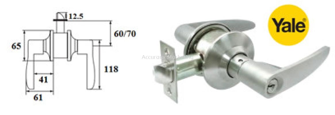 Yale L4440 Cylinder Leverset