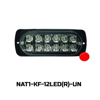 FLASH LIGHT 12LED(12-24V)RED