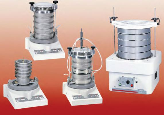 Sample preparation, milling and particle size analyzer
