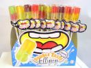 Double Taste Crystal Lollipop  Candy
