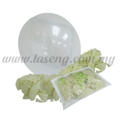 12inch Transparent Balloon 100pcs (B-CR12-600)