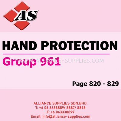 Hand Protection (Group 961)