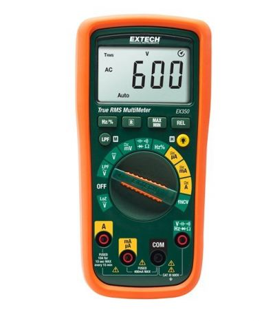 Extech EX350 True RMS MultiMeter + NCV