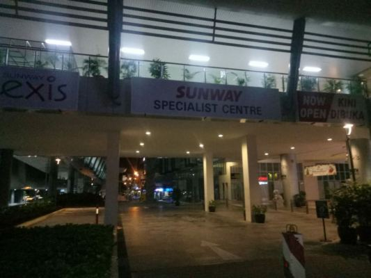 Sunway lightbox installed