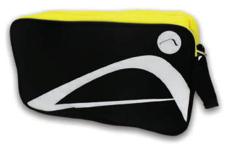 ATTOP SHOE BAG AB115 BLACK/YELLOW
