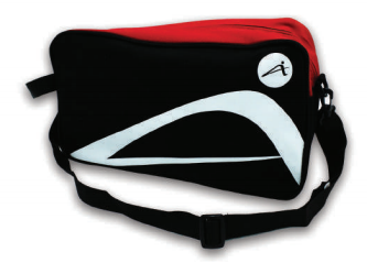 ATTOP SHOE BAG AB115 BLACK/RED