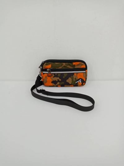 ATTOP PHONE BAG AB 401 KHAKI/ORANGE