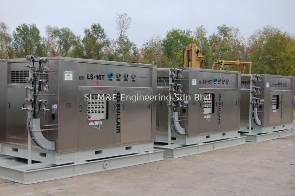 Compressed Dry Air System