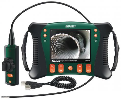 Extech HDV640 High Definition Articulating Videoscope Inspection Kit