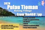 3Day2Night Pulau Tioman  (Salang Village) Others