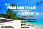 3Day2Night Pulau Lang Tengah (D'Coconut Lagoon) Island Package 海岛配套