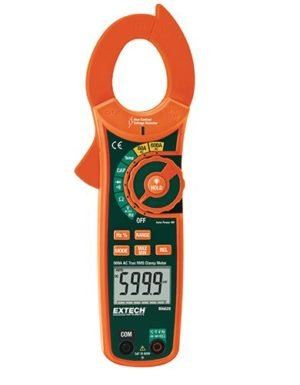Extech MA620-NIST 600A AC TRMS Clamp Multimeter with Voltage Detector