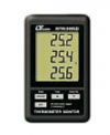 THERMOMETER DATA RECORDER, 3 channels, type K Temp, SD Card real time data recorder MTM-380SD THERMOMETERS LUTRON