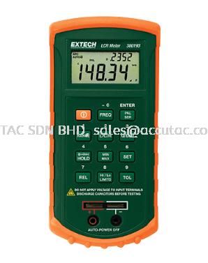 EXTECH 380193: Passive Component LCR Meter