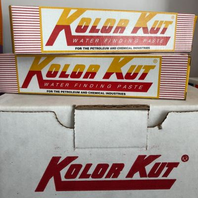 KOLOR KUT WATER FINDING PASTE YELLOW TO RED